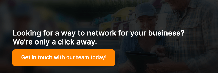 Looking for a way to network for your business? We're only a click away.
