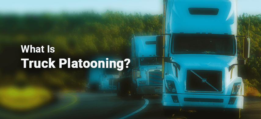 What Is Truck Platooning